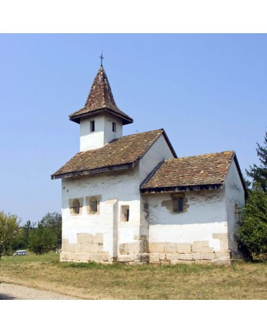 "Biserica ""Sf. Gheorghe"", monument istoric cod LMI HD-II-m-A-03454."