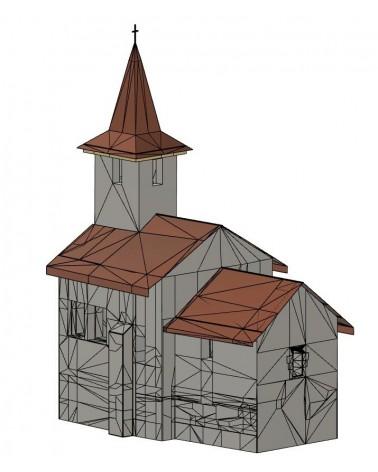 "Modelul 3D al Bisericii ""Sf. Gheorghe"" din Streisangiorgiu"